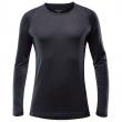 Pánské triko Devold Breeze Man Shirt černá Black