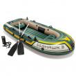 Надувний човен Intex Seahawk 3 Boat Set 68380NP