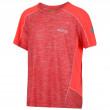 Dětské triko Regatta Takson II červená CorlBl/FieCo