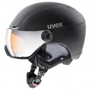 Lyžařská přilba Uvex HLMT 400 Visor style černá black mat