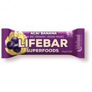 Батончик Lifefood Plus Acai Бананова RAW BIO 47