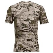 Чоловіча футболка Under Armour Iso-Chill Brushline SS сірий/чорний