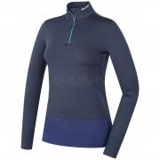 Dámské funkční triko Husky Active Winter zip dl.rukáv modrá modrá