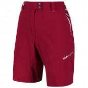 Dámské kraťasy Regatta Mountain Shorts červená Dark Cerise