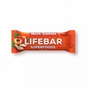 Tyčinka Lifebar Plus brazilská s guaranou BIO RAW 47 g