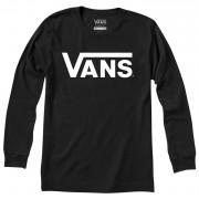 Чоловіча футболка Vans MN Vans Classic Ls чорний/білий