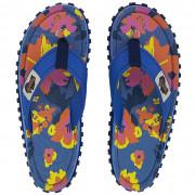 Dámské žabky Gumbies Islander Floral modrá Floral