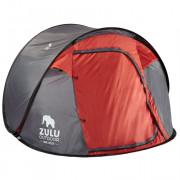Саморозкладний намет Zulu Dome 3 Speedy сірий/червоний