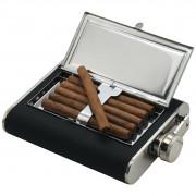 Фляжка Cattara 175 мл з відділенням для сигар