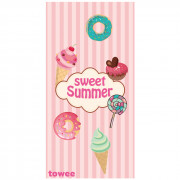Rychleschnoucí osuška Towee Sweet Summer 80x160 cm růžová Sweet Summer