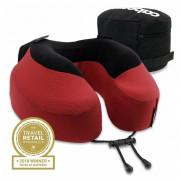 Podhlavník Cabeau Evolution Pillow S3 červená Cardinal