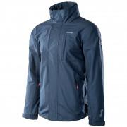 Pánská bunda Hi-Tec Desna modrá Dark denim melange