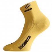 Ponožky Lasting WKS žlutá hořčicová