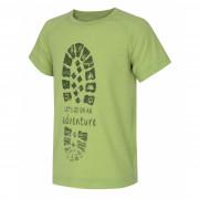 Dětské triko Husky Zingl K světle zelená
