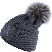 Zimní čepice Sherpa Nora šedá dark grey