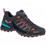 Dámské boty Salewa Ws Mtn Trainer Lite černá/červená Premium Navy/Fluo Coral