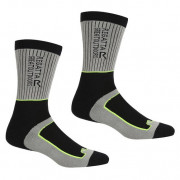 Чоловічі шкарпетки Regatta Samaris2SeasonSck чорний/сірий