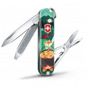 Kapesní nůž Victorinox Classic LE Swiss Mountain Dinner tmavě zelená