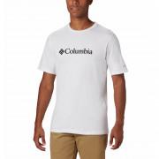 Pánské triko Columbia CSC Basic Logo Tee bílá White