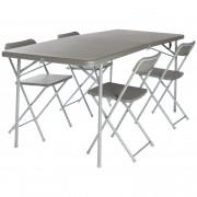 Set Vango Orchard XL 182 Table and Chair šedá Grey