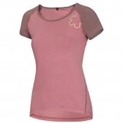 Dámské triko Ocún Bamboo T růžová Blossom Dusty Rose