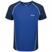 Pánské triko Regatta Tornell II tmavě modrá NautBlu/DkDe