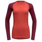 Dámské triko Devold Duo Active woman shirt červená Beetroot