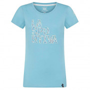 Dámské triko La Sportiva Pattern T-Shirt W modrá Pacific Blue