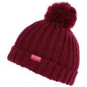 Dětská zimní čepice Regatta Luminosity Hat III červená Beetroot
