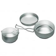 Ešus Var hliníkový - třídílný stříbrná stříbrná