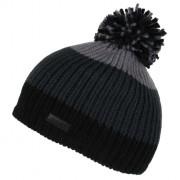 Dětská zimní čepice Regatta Davin Hat II černá/šedá Black