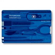 Multifunkční nářadí Victorinox SwissCard Classic modrá
