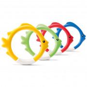 Іграшка до води Intex Underwater Fish Rings кольоровий мікс