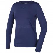Dámské funkční triko Husky Active Winter dl. rukáv modrá modrá