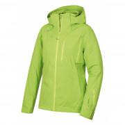 Dámská bunda Husky Montry L zelená výrazně zelená