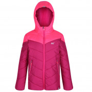 Dívčí zimní bunda Regatta Lofthouse III růžová DkCeris/NePk