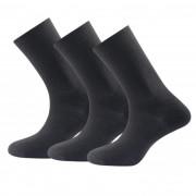 Ponožky Devold Daily light sock 3PK černá