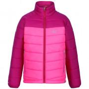 Dětská bunda Regatta Jnr Freezeway růžová NeonPk/DkCrs