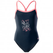 Dívčí plavky Aquawave Velanti Jr černá BLUEBERRY/CONCH SHELL