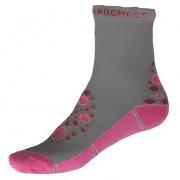 Dětské ponožky Progress Kids Summer Sox 26PS šedá/růžová šedá/růžová