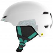 Dětská lyžařská přilba Scott Keeper 2 Plus bílá/zelená white/mint green