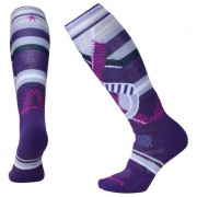 Dámské podkolenky Smartwool Phd Ski Medium Pattern Women`s fialová mountain purple