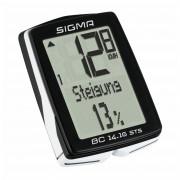 Cyklocomputer Sigma BC 14.16 STS/CAD bezdrátový černá