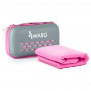Рушник Warg Soft 75x150 cm рожевий