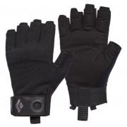 Pánské rukavice Black Diamond Crag Half-Finger Gloves černá black