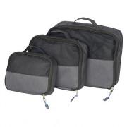 Cestovní organizér Bo-Camp Travel Pack Cubes 3 černá