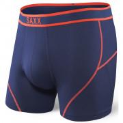 Boxerky Saxx Kinetic Boxer Midnight blue/Orange modrá midnight blue/orange