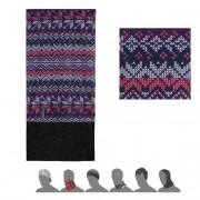 Šátek Sensor Tube Fleece vločky multicolor