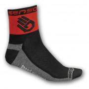 Ponožky Sensor Race Lite Ruka červená červená