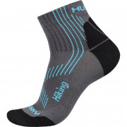Ponožky Husky Hiking New šedá/modrá